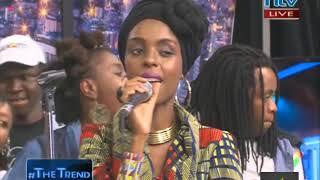 The story of da beautifull reggae artist Njambi Koikai or jahmby from kenya