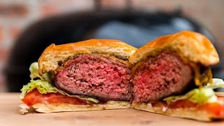 Quick Tips 1 Reverse Seared Burger  TruBBQtv