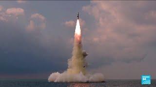 North Korea tested new 'submarine-launched ballistic missile' • FRANCE 24 English