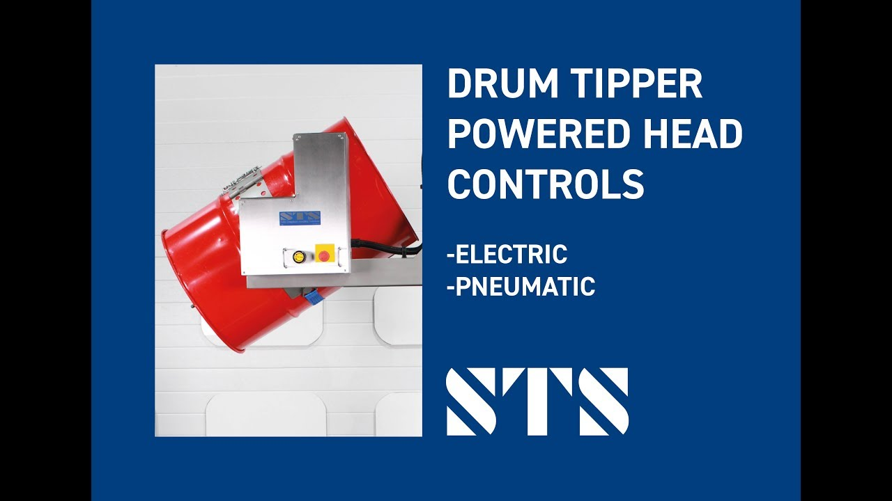 Drum Tipper with Powered Drum Rotation - Head Controls (Option: -TC)