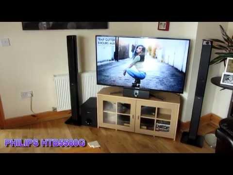 PHILIPS HTB5580G - 1000W RMS 3D Blu-ray Test Sound