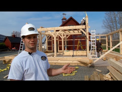 The Story Of The Carriage Barn: A Post And Beam Barn Built By The Barn Yard & Great Country Garages