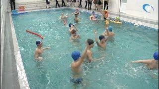 В Гимназии «Гармония» восстановили бассейн