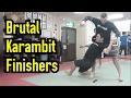 BRUTAL Karambit Flows Finishers Raw Silat Class at RCI Headquarters, Japan