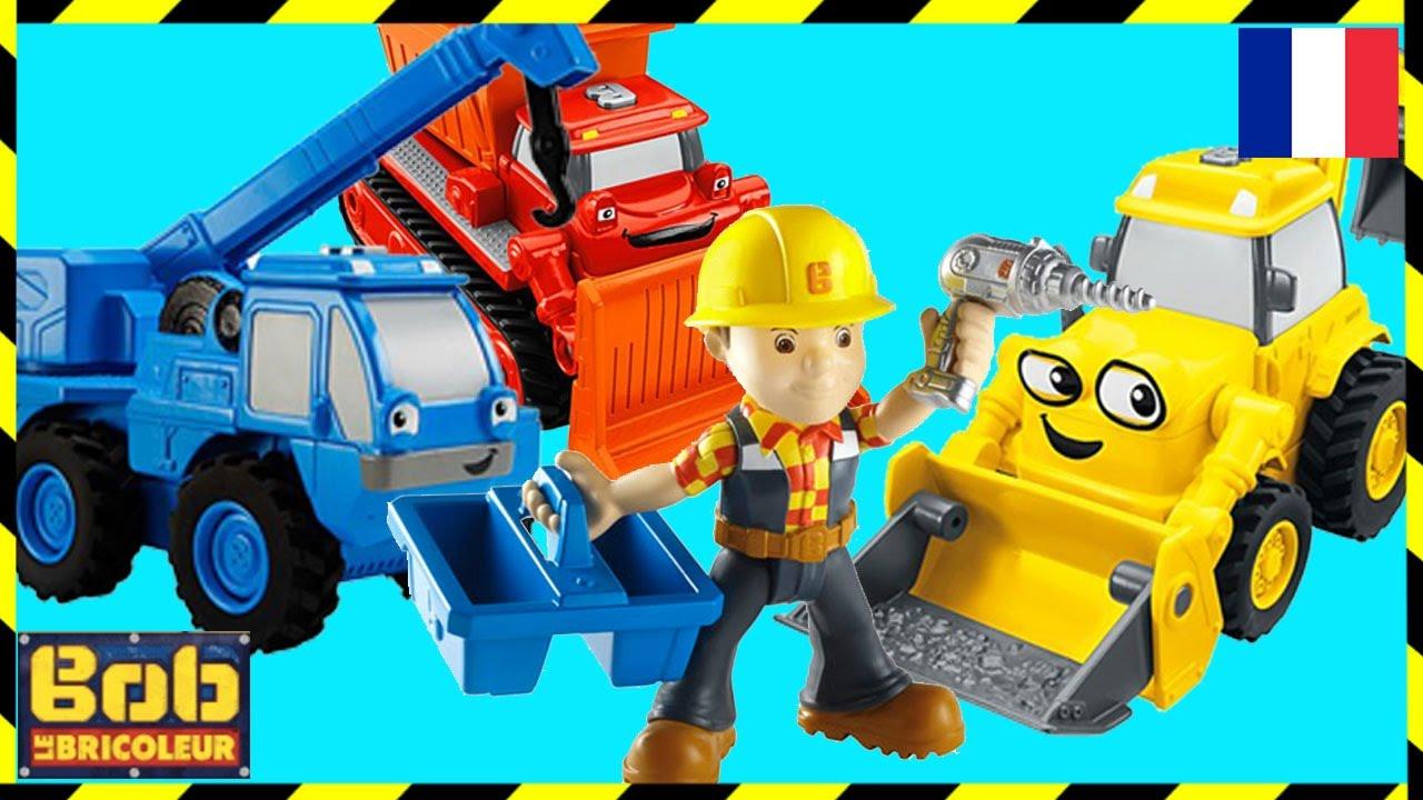 Bob Le Bricoleur Recontrer Les Jouets Zone De Construction Amusante Bande Dessinée Pour Enfants Youtube