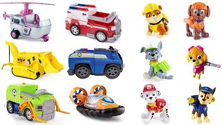 Best Learning Colors for Children Video: Help Match Paw Patrol Pups to Vehicles