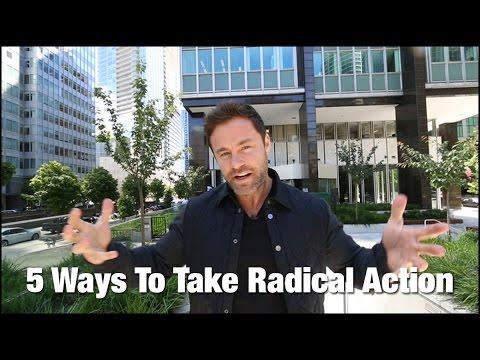 Taking Radical Action - Mindset Monday - Drew Canole