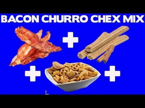 Bacon Churro Chex Mix Recipe!!!