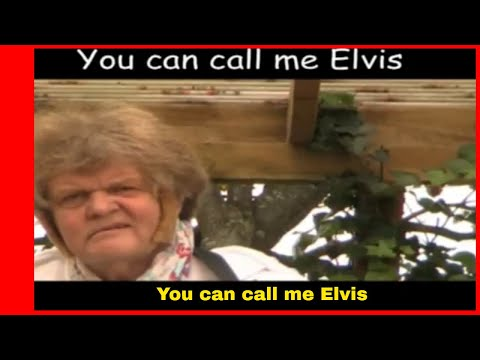 You can call me Elvis