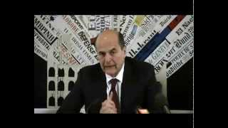 Bersani - Serve Golden Rule immediata, senza discutere il fiscal compact (02.05.12)