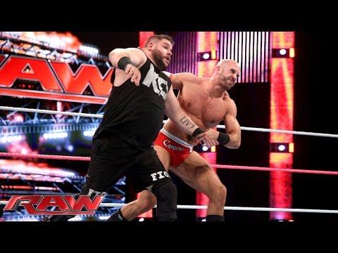 Cesaro vs. Kevin Owens: Raw, October 26, 2015