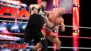 Cesaro vs. Kevin Owens: Raw, October 26, 2015