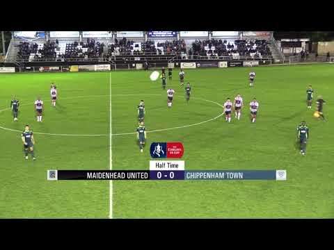 2018 10 23  Maidenhead Utd v Chippenham Town  Highlights