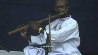 D Madhusudan Playing Raga Desh on Indian Flute