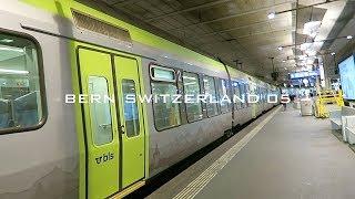 スイスの旅5 / ベルンからバーゼルまで電車で行く・バーゼル中央駅周辺を街歩き・空港バスで市内からバーゼル空港までアクセス【ユーロエアポート ミュールーズ空港】