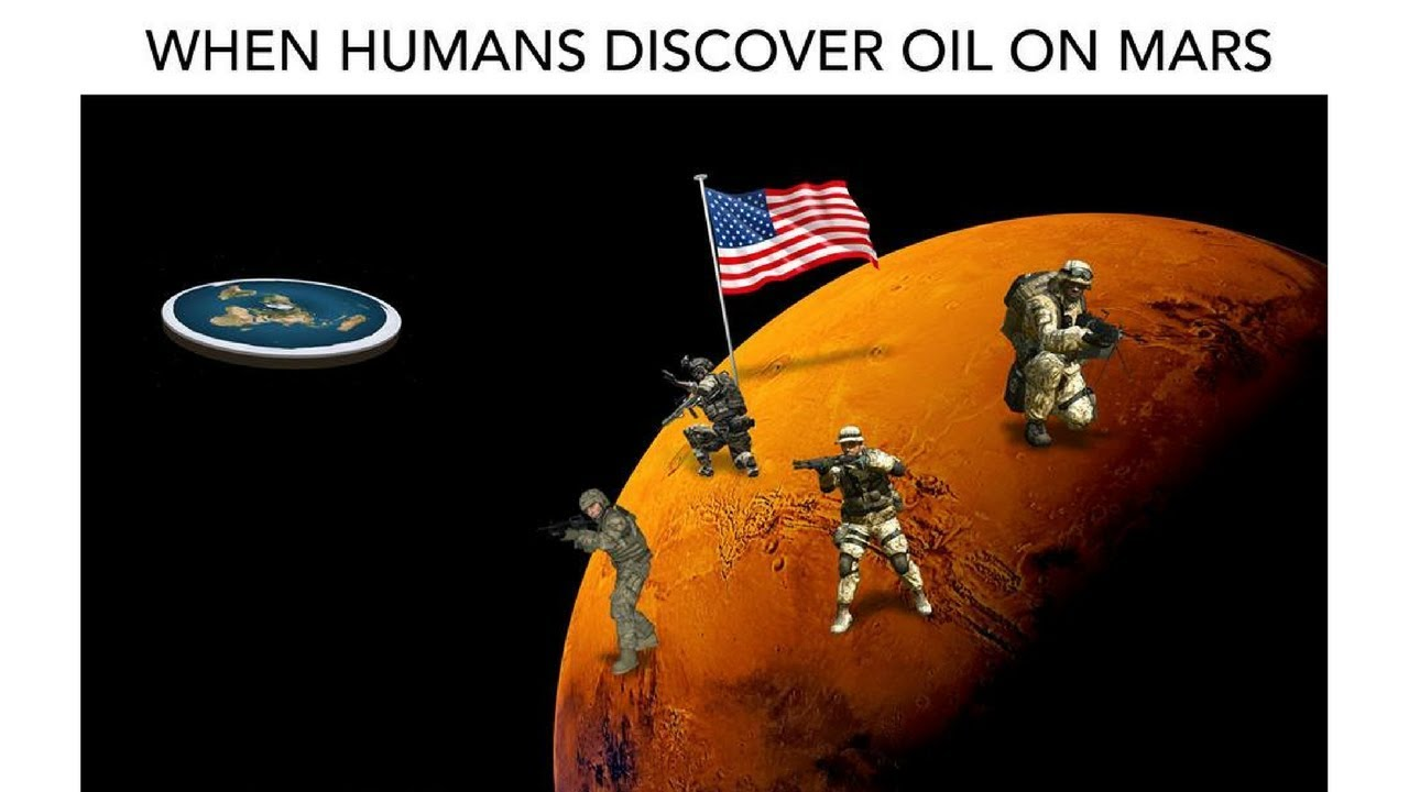 When America Finds Oil Meme
