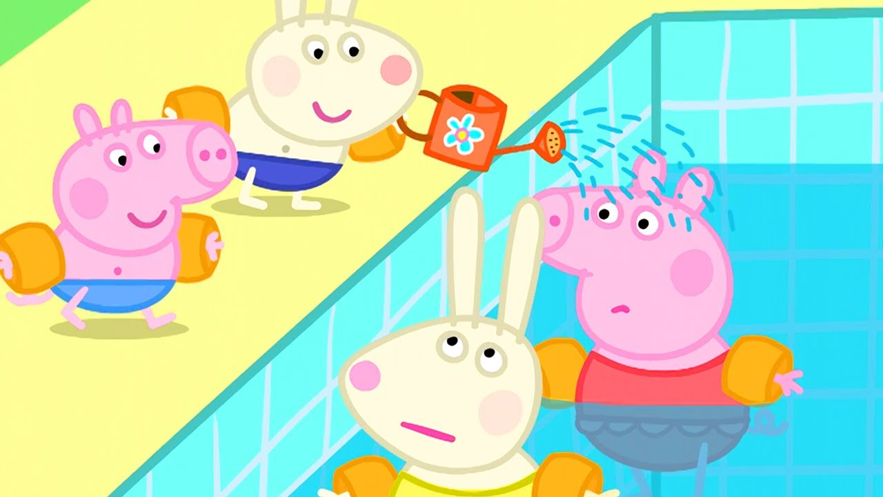 Peppa Pig Official Channel | Swimming | Peppa Pig Season 2