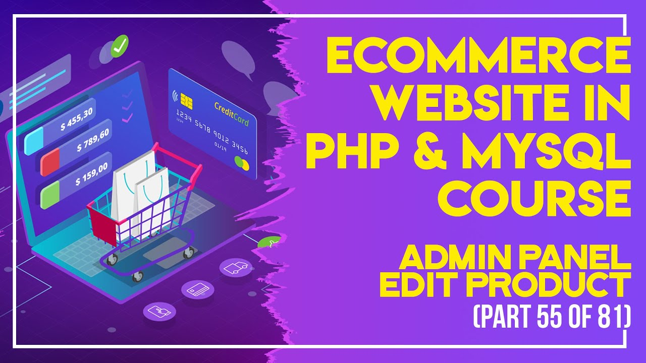 E-Commerce website in PHP & MySQL in Urdu/Hindi part 55 admin panel view Products