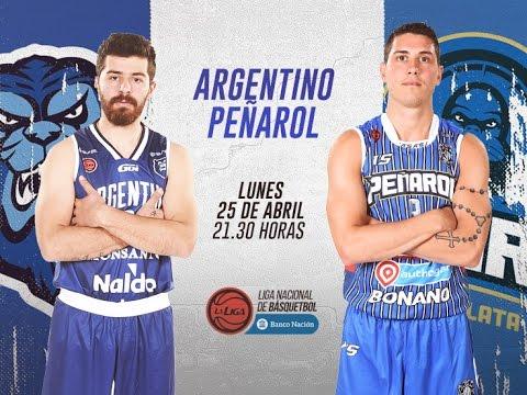 Liga Nacional de Básquet: Argentino vs. Peñarol | #LaLigaEnTyC