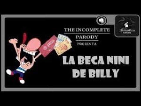 Las sombrias aventuras de Billy y Mandy (Loquendo) La beca nini de Billy