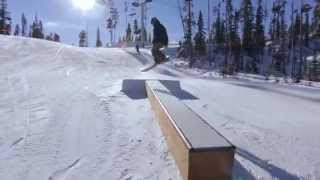 January Terrain Parks - Big Sky Resort