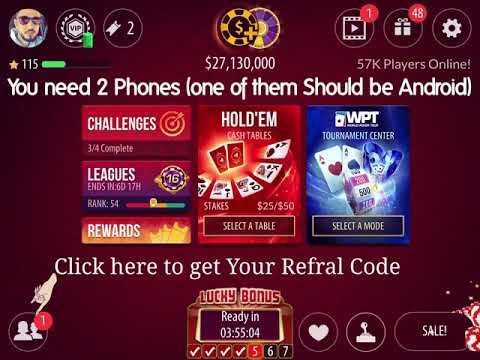 Zynga Poker Chips Free Offer 50 Millions In 3 Minuets 1 Billion In 50 Minuets Easy Chips And Safe