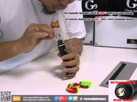Greenlightvapes The New Released H Enail Youtube