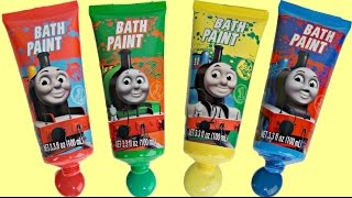 Thomas and Friends Bath Paint and Soap Toy Kid Vid...