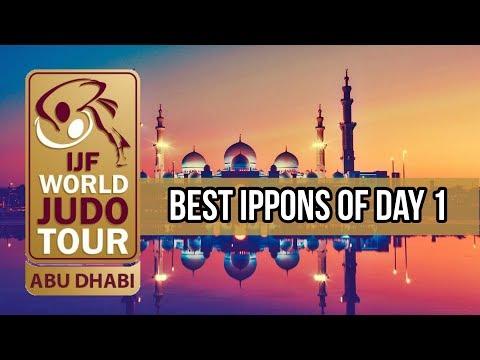 Best ippons in day 1 of Judo Grand Slam Abu Dhabi 2018