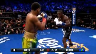 Shawn Porter vs Andre Berto TKO HD