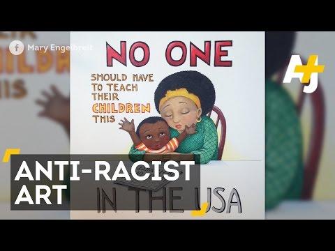 Mary Engelbreit's Anti-Racist Ferguson Illustrations Spark Backlash