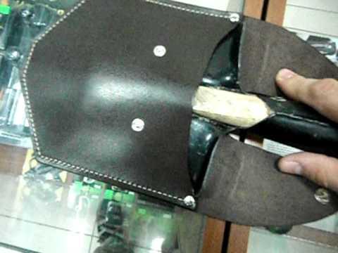 Схема саперной лопатки
