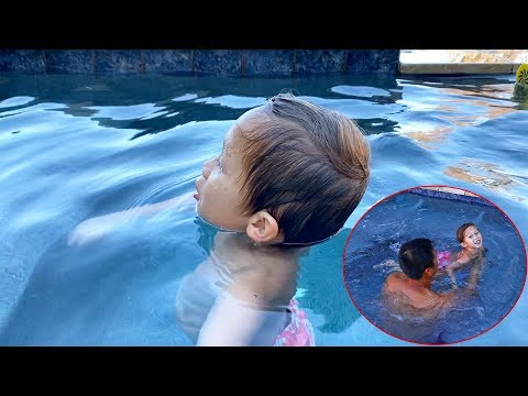 Toddler Can Almost Swim!