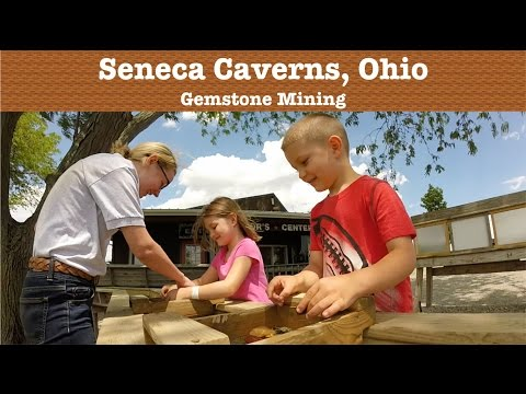 Gemstone Mining at Seneca Caverns, Ohio