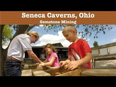 Gemstone Mining At Seneca Caverns, Ohio