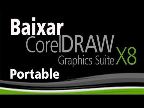 BAIXAR COREL DRAW X8 PORTABLE completo ativado 2018