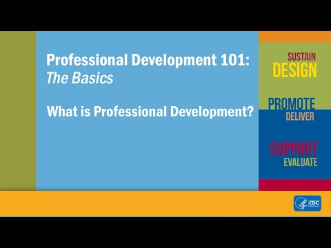 What is Professional Development?
