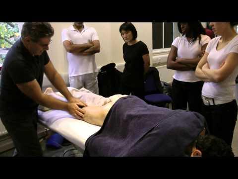 Hot Stone Massage  Lower Limb  Prone