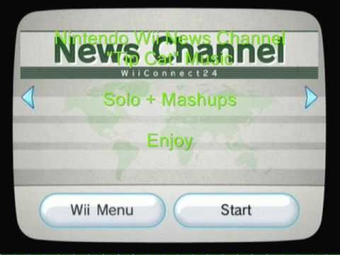 Nintendo Wii News Channel Music-Tip Cat Music Extended (Alternating Solo + Mashup Mix)