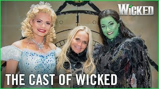 Wicked UK | Kristin Chenoweth meets Sophie Evans