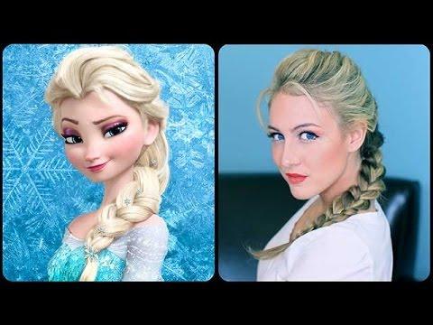 Elsa's Textured French Braid Tutorial YouTube