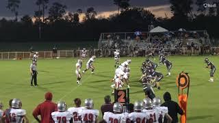 Vince Dixon High school Football Highlights(Sophomore Year)