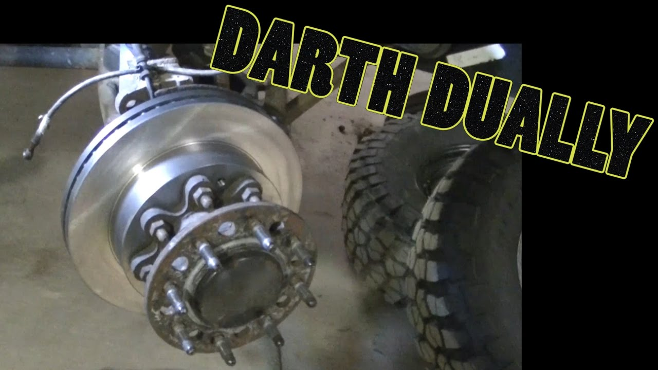 """2017 Chevy Silverado 3500 >> """"Darth Dually"""" Silverado 3500 Front Brakes & ABS Sensors - YouTube"""