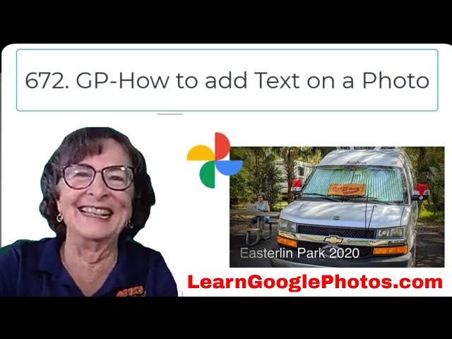 How Do I Add Text on a Photo? Tutorial Video 672