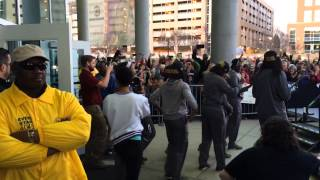 getlinkyoutube.com-Gamecock fans welcome Dawn Staley and the women's basketball team back to Columbi