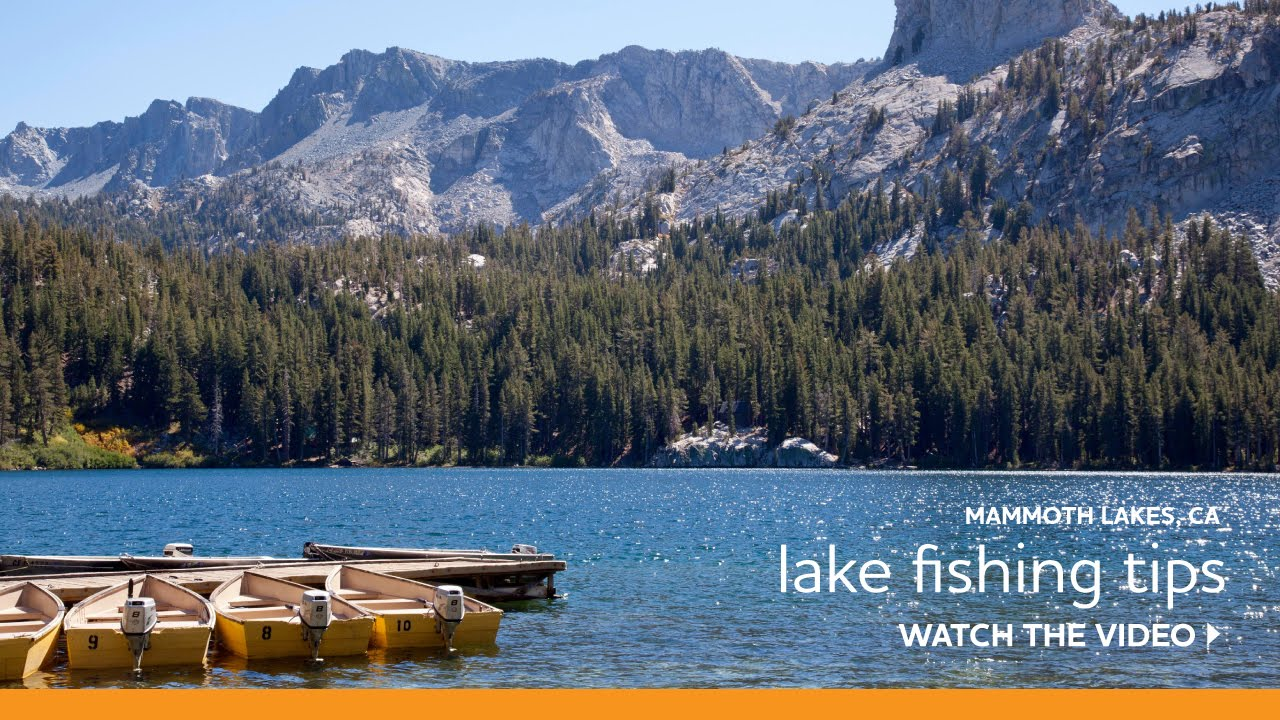 Lake fishing tips in the eastern sierra youtube for Eastern sierra fishing