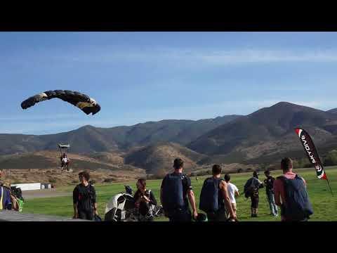 Sky Dive Landing in SD 2018