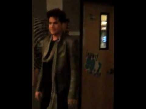Adam Lambert Meet and Greet @99.7 studios San Francisco 1-20-2012!!
