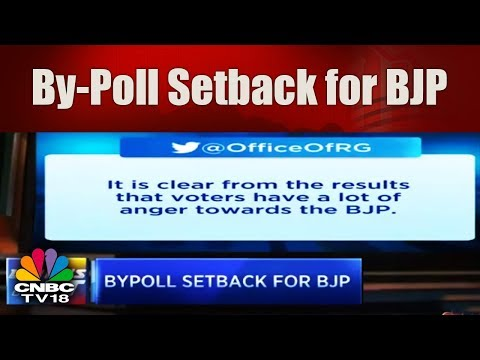 WHAT's HOT   By-Poll Setback for BJP: Loses Both the Much Hyped Lok Sabha Seats   CNBC TV18