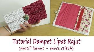Video Crochet    Tutorial Merajut Dompet Lipat - Moss Stitch download MP3, 3GP, MP4, WEBM, AVI, FLV Juli 2018
